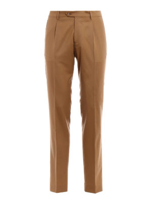 Berwich: casual trousers - Milano wool chino trousers