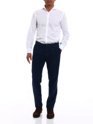 Berwich: casual trousers online - Classic cotton fustian trousers