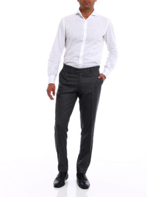 Berwich: casual trousers online - Elegant wool chino trousers