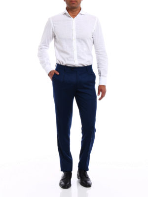 Berwich: casual trousers online - Milano formal wool trousers