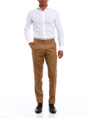 Berwich: casual trousers online - Milano wool chino trousers