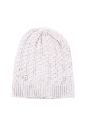 Blugirl: beanies - Cable stitch knitted beanie