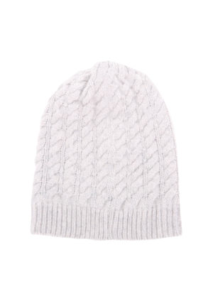 Blugirl: beanies online - Cable stitch knitted beanie