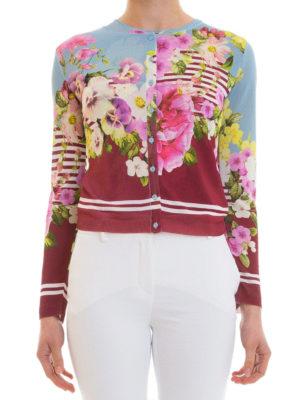 Blugirl: cardigans online - Floral patterned cardigan