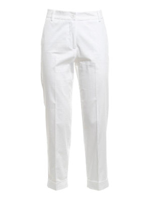 Blugirl: casual trousers - Cotton blend trousers