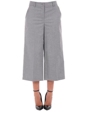 Blugirl: casual trousers online - Wide leg trousers