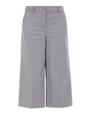 Blugirl: casual trousers - Wide leg trousers