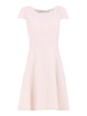 Blugirl: cocktail dresses -  A-line dress with rhinestone
