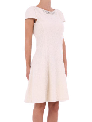 Blugirl: cocktail dresses online -  A-line dress with rhinestone
