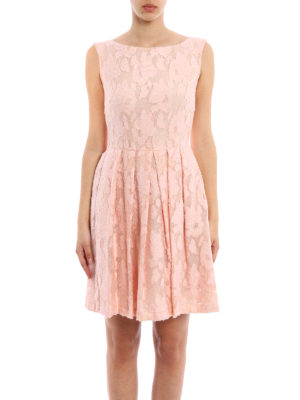Blugirl: short dresses online - Floral lace short dress