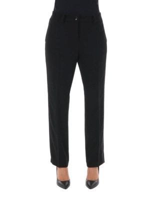 Blugirl: Tailored & Formal trousers online - Glitter embellished trousers
