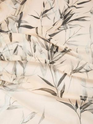 Blumarine: scarves online - Bamboo print silk scarf