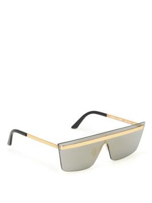 Bob Sdrunk: sunglasses - Andrew/S futuristic sunglasses