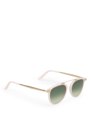 Bob Sdrunk: sunglasses - Joe pink gold aviator sunglasses