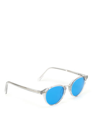 Bob Sdrunk: sunglasses - Leo sheer frame sunglasses