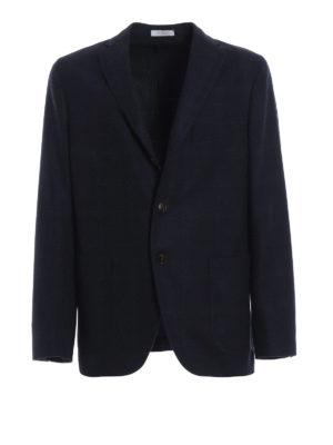 BOGLIOLI: giacche blazer - Blazer destrutturato in misto lana a quadri
