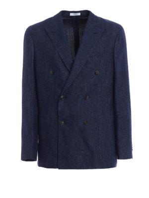 Boglioli: blazers - Double-breasted unlined blazer