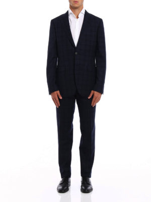 Boglioli: formal suits online - Sforza two-piece blue wool suit