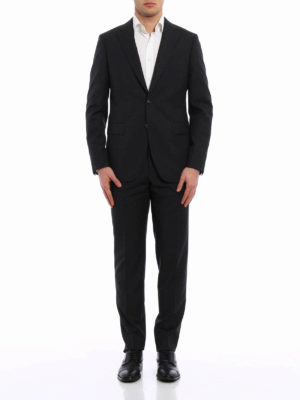 Boglioli: formal suits online - Two-piece virgin wool suit