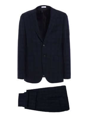 Boglioli: formal suits - Sforza two-piece blue wool suit