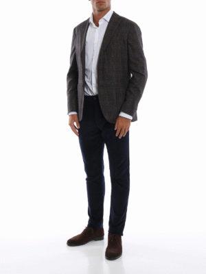 BOGLIOLI: giacche blazer online - Giacca destrutturata Principe di Galles