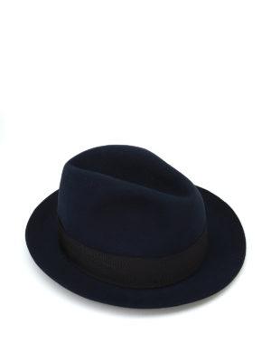 BORSALINO: cappelli - Cappello Alessandria in feltro blu