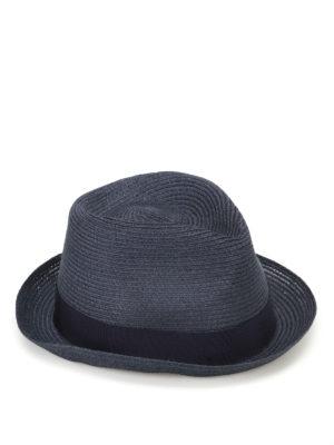 Borsalino: hats & caps - Blue panama hat