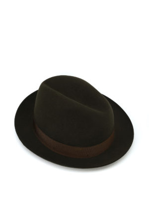 BORSALINO: cappelli - Cappello Marengo in feltro kaki