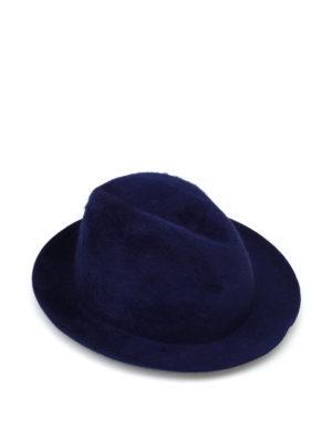 BORSALINO: cappelli - Cappello Melousine in feltro blu
