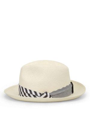 Borsalino: hats & caps online - Quito Tie panama straw hat