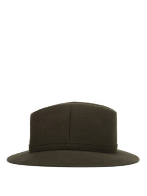 Borsalino: hats & caps online - Strap detailed felt hat