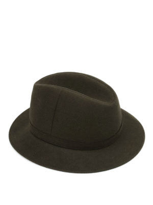 Borsalino: hats & caps - Strap detailed felt hat