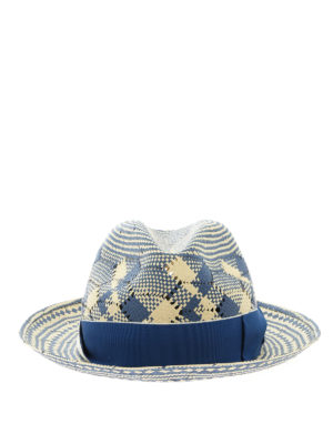 BORSALINO: hats & caps - Textile paper fedora hat