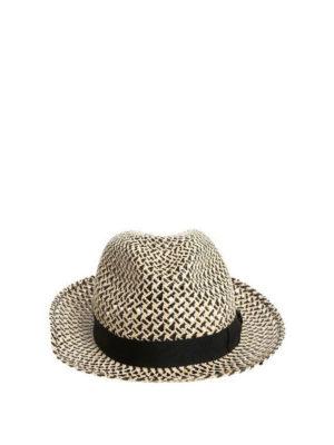 BORSALINO: cappelli - Cappello Panama bicolore
