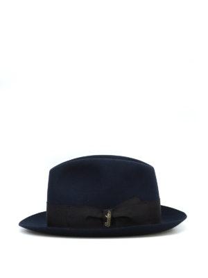 BORSALINO: cappelli online - Cappello Alessandria in feltro blu