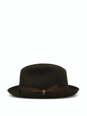 BORSALINO: cappelli online - Cappello Marengo in feltro kaki
