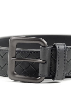 Bottega Veneta: belts online - Soft nappa leather belt