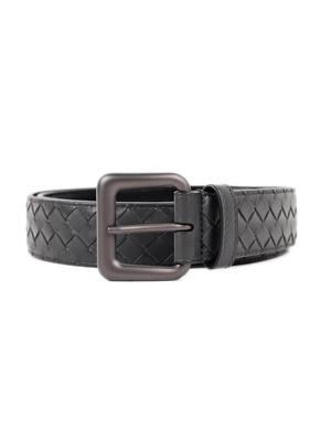 Bottega Veneta: belts online - Woven leather belt