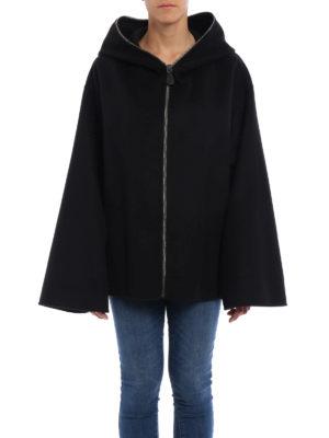 Bottega Veneta: Capes &  Ponchos online - Oversize soft cashmere cape