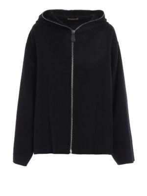 Bottega Veneta: Capes &  Ponchos - Oversize soft cashmere cape
