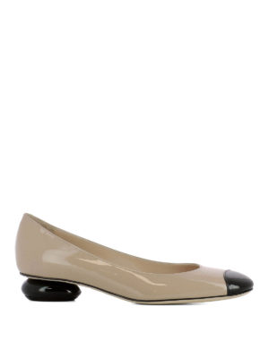 Bottega Veneta: court shoes - Bette patent leather pumps