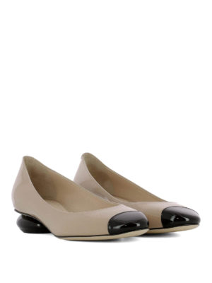 Bottega Veneta: court shoes online - Bette patent leather pumps