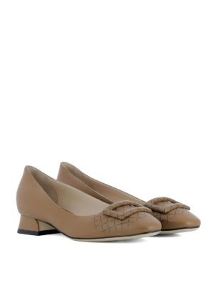 Bottega Veneta: court shoes online - Cherbourg napa leather pumps
