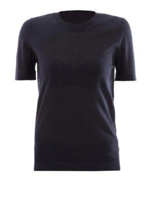 Bottega Veneta: crew necks - Cashmere short sleeve sweater