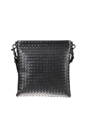 Bottega Veneta: cross body bags - Intrecciato small crossbody