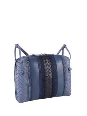 Bottega Veneta: cross body bags online - Sunshine Intrecciato crossbody bag