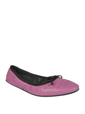 Bottega Veneta: flat shoes online - PIC NIC INTRECCIATO BALLERINAS