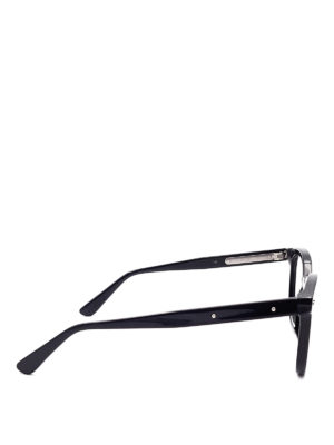 Bottega Veneta: glasses online - Black acetate eyeglasses