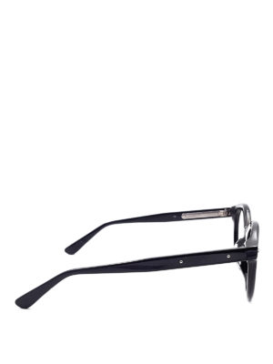 Bottega Veneta: glasses online - Black round eyeglasses