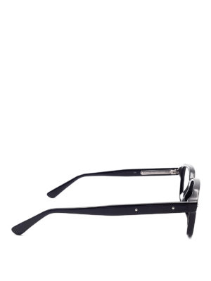 Bottega Veneta: glasses online - Black squared eyeglasses